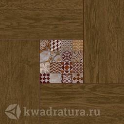 Керамогранит Cersanit Bellariva коричневый 42x42 см