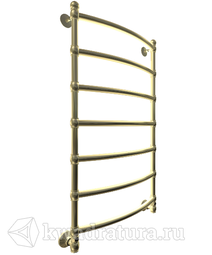 Полотенцесушитель Bronze De Luxe Ретро Лесенка бронза нижнее подключение