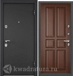 Дверь входная стальная Торэкс X3 Темно-серый букле графит/СК-2 Орех коньяк