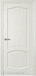 Межкомнатная дверь Дриада ДГ Дуб белый жемчуг