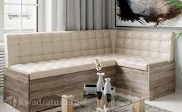 Форест Скамья-диван угловая со спальным местом бежевый