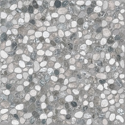 Керамогранит Cersanit Kama тёмно-серый рельефный 42х42 см