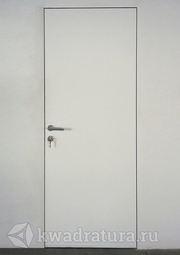 Межкомнатная скрытая дверь Invisible Eclipse с полотном под покраску и скрытыми петлями