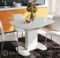 Стол обеденный Портофино Белый глянец/Стекло белое СМ(ТД)-105.01.11(1)