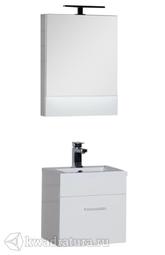Комплект мебели для ванной Aquanet Нота 50 белый