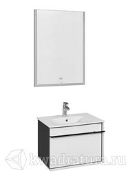 Комплект мебели для ванной Roca Aneto 60 белый глянец/черный