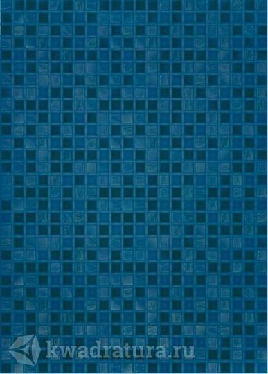 Настенная плитка Березакерамика Квадро синий 25х35 см