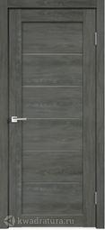 Межкомнатная дверь VellDoris Linea 1 Дуб шале графит