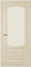 Межкомнатная дверь Олива ДО Дуб Слоновая кость