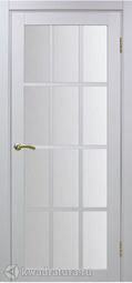 Межкомнатная дверь OPorte Турин 542.2222 белый монохром