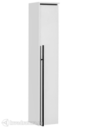Пенал для ванной Roca Aneto 23 белый глянец/черный L/R