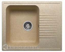Кухонная мойка Polygran F-07 Песочная