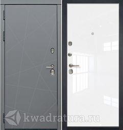 Дверь входная Профильдорс HD5 1LK Белый люкс