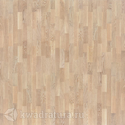Паркетная доска Tarkett Timber Дуб Светло-Серый Глянцевый браш