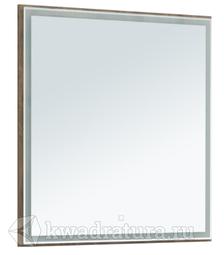 Зеркало Aquanet Nova Lite 75 LED дуб рустикальный