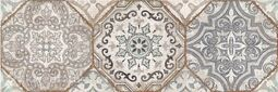 Декор 4 Cersanit Majolica многоцветный 20х60 см